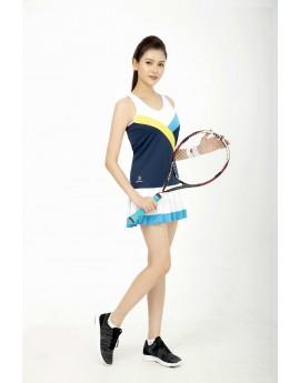 Váy tennis Nữ ASC-1012 Trắng phối navy