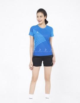 Áo thể thao nữ AC-3636-04-02 Xanh bích phối xanh copan