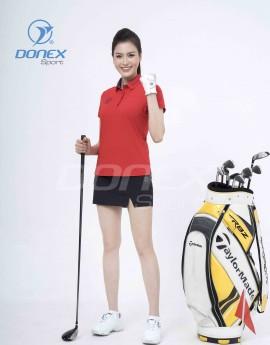 Áo thể thao Golf nữ AC-3660-07-12 Đỏ phối navi