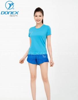 Quần thể thao nữ ASC-1008-04-02 Xanh bích in xanh copan