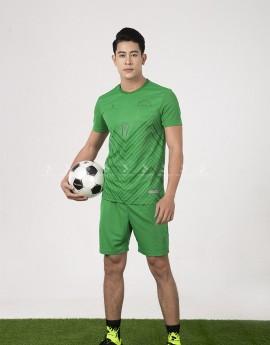 Bộ bóng đá nam MCB-6140-03-03 Xanh lá phối xanh lá