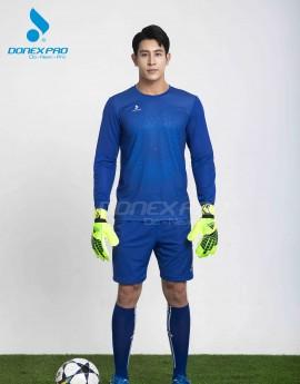 Bộ bóng đá nam MCB-6146 xanh bích phối xanh copan
