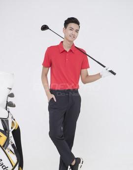 Áo thể thao Golf nam MC-9018 Đỏ phối đen