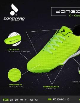 Giày đá bóng FC2001-01-10 màu dạ quang