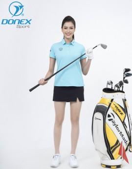 Váy thể thao Golf nữ ASC-896-08-18 Đen phối ghi